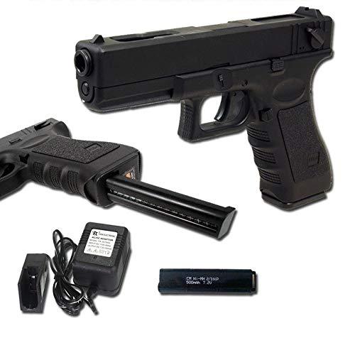 Cyma Airsoft Softair G18Pistole Elektrische AEP Semi/Automatische CM030(0,5Joule) Schwarz Zylinderkopfdichtung Metall - Auto Air-pistole Semi