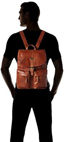 Spikes & Sparrow - Backpack, Zaini Unisex - Adulto Marrone (Brandy)