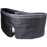 FEDANO Schlafmaske DreamKeeper - Hochwertig in elegantem Schwarz mit ökotex-zertifizierter Bio-Baumwolle - Durch... preisvergleich bei billige-tabletten.eu