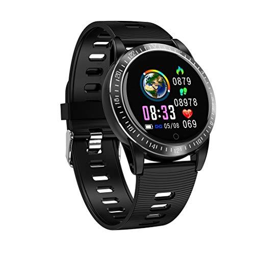 Webla Smartwatch Pedometer Tracker mit AK19 Herzfrequenz-Blutdruckmessung, Steel