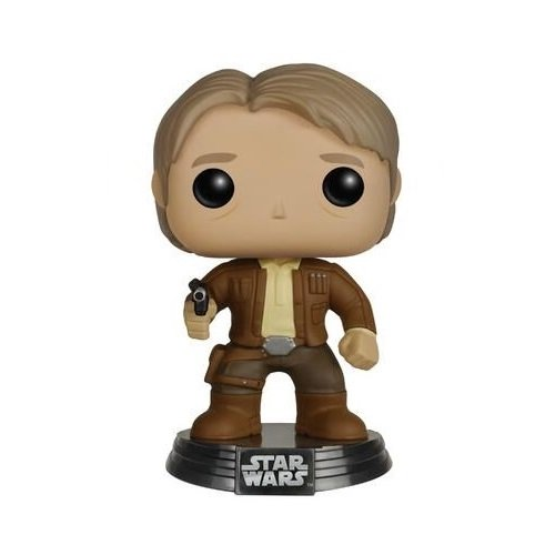 FUNKO Pop! Star Wars Episodio 7 - Han Solo Bobble-Head Figure numero 79