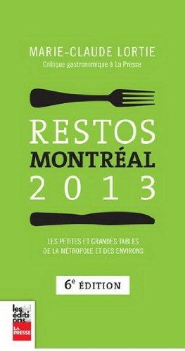 Restos Montreal 2013 6e ed.