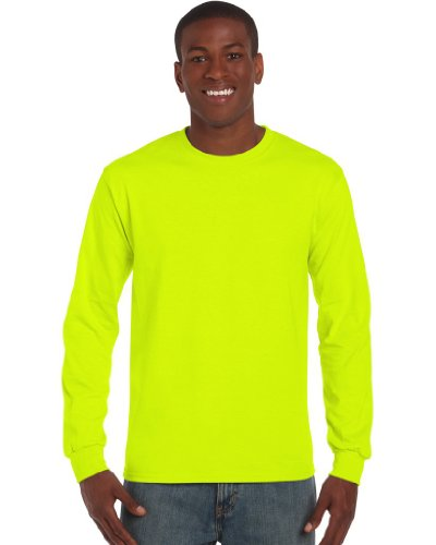 Langarm T-Shirt Ultra, Farbe:Safety Green-Yellow;Größe:S S,Safety Green-Yellow