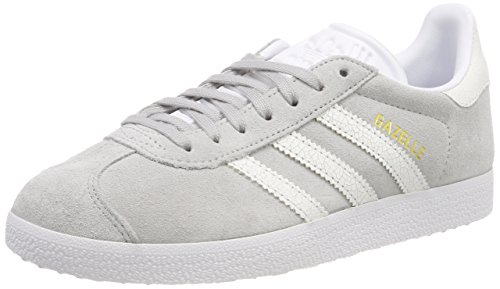 new product 40c5a 95615 adidas Gazelle W, Chaussures de Gymnastique Femme, Gris (Grey Two F17 Ftwr