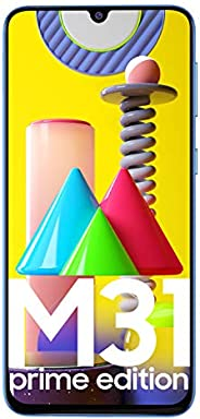 Samsung Galaxy M31 Prime Edition (Iceberg Blue, 6GB RAM, 128GB Storage)