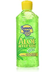 Banana Boat Soothing Aloe After Sun Gel, 16 oz by Banana Boat
