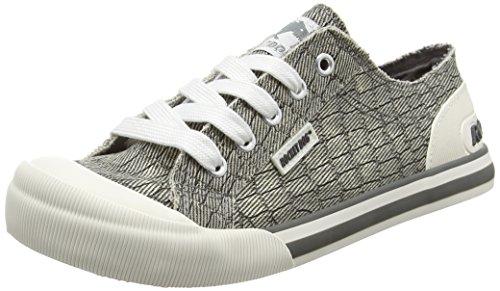 Rocket Dog Damen Jazzin Sneaker Grau (Scales Grey)