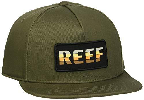 Reef Herren Town HAT Schirmmütze, Grün (Olive Oli), One Size (Herstellergröße: OS)