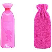 Sicheres PVC-Wärmflasche mit Abdeckung Warm halten für Erwachsene oder Kind 1,0 Liter (Verbrühschutz # 01) preisvergleich bei billige-tabletten.eu