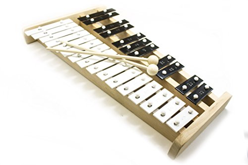 ProKussion WoodSoprCovV Professional Wooden Soprano Glockenspiel Xylophone with Cover