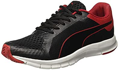 Puma Men's Black-Ribbon Red-Gray Violet Sneakers-6 UK/India (39 EU) (4059507833808)