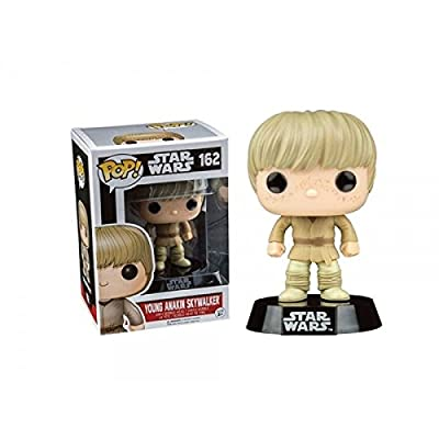 Figurine Pop ! Star Wars 162 - Bobble-Head Young Anakin Skywalker