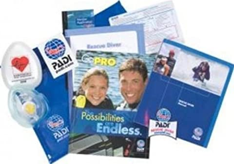 PADI Rescue Diver Crew Pack with Pocket Mask Training Materials