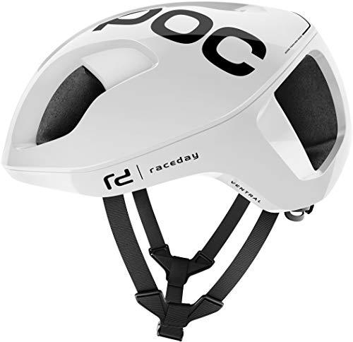 POC Ventral Spin Helm, Unisex, Erwachsene, Unisex-Erwachsene, 10505_XS-S/51-54_Azul (Reson Blue), Weiß (hydrogen White Raceday), S/50-56cm