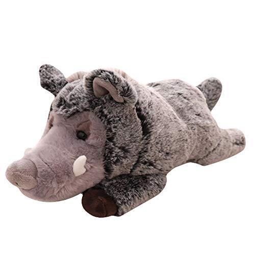 DecoBay Plüsch Klein Tier Stofftier Plüschtier Kuscheltier Schwein Hund Hase Elefant 30CM (Wildschwein) -