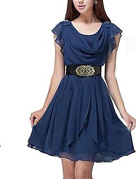 Vita Honeysuck Lady Dress cinture retro vintage ampia cintura in vita con elastico