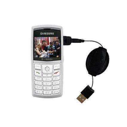 Das ausziehbare Lade über USB für Samsung SGH-T519 Erfüllt beide Funktionen