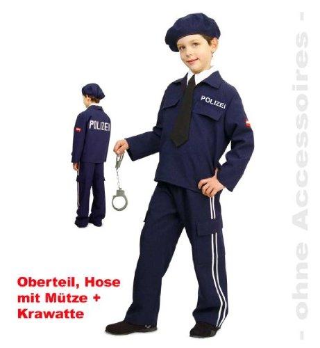 Polizist Austria 104 Polizei Anzug Kostüm 4tlg mit -