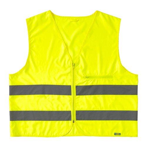 Preisvergleich Produktbild IKEA beskydda Hohe Sichtbarkeit Weste die Zipp und Tasche, M