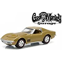 1969 Chevrolet Corvette Gas Monkey Garage (2012-Current TV Series) 1/64 by Greenlight 44720 C by Chevrolet