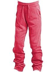 CMP - F.lli Campagnolo Jogging Hose - Pantalones de fitness para niña, color rojo, talla 92