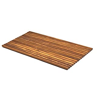 Asinox tek4h7100 Slatted Wood Brown 86 x 56 x 2,5 cm