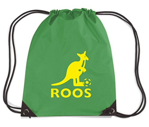 t-shirtshock-backpack-budget-gymsac-wc0199-australia-t-shirt-socceroos-size-capacity-11-liters