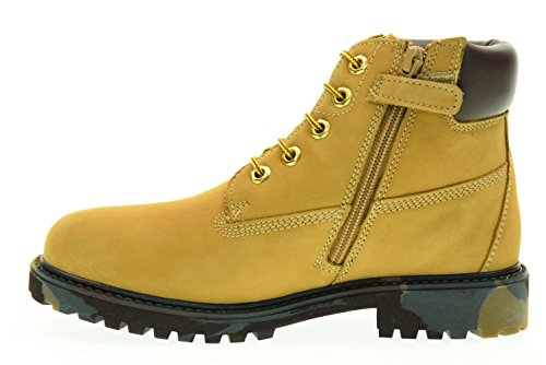 LUMBERJACK boot juniors SB00101-001 RIVER OCRE YELLOW/DK BROWN