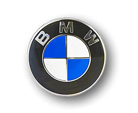 BMW Center Wheel Véritable emblème Cap Decal Sticker autocollant 64.5mm estampé 36136767550