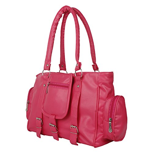 Taps Fashion Women's Handbag Pink (Taps-3)  available at amazon for Rs.235
