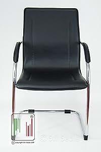 Stil sedie poltrona sedia ufficio su slitta modello for Regalo sedie milano