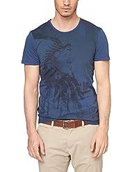 S.Oliver 504 2250 - T-Shirt - Col Ras Du Cou - Manches Courtes - Homme