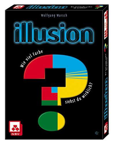 NSV - 4057 - ILLUSION - Kartenspiel (Farbkarte Der Welt)