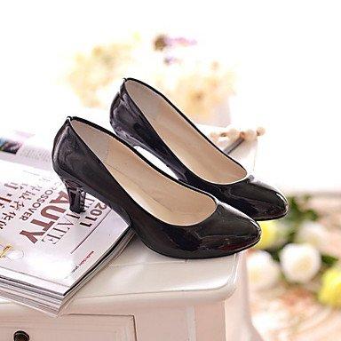 RTRY Donna Pu Tacchi Primavera Estate Chunky Heel Bianco Nero Rubino Beige 1A-1 3/4In US8.5 / EU39 / UK6.5 / CN40