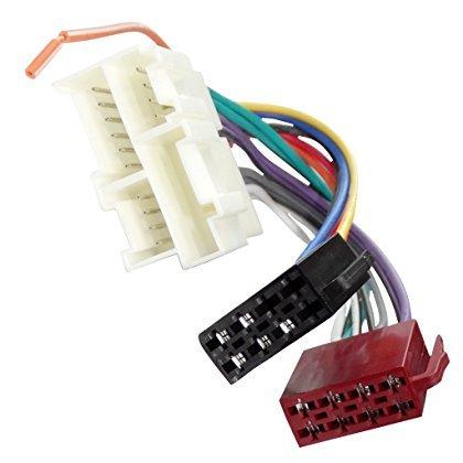 er Adapter Kabel Radioadapter Radio Stecker ISO Kabel Verbindungskabel für amerikanische Autos C40113 ()
