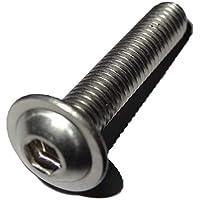 10 Stück Linsenkopfschrauben ISO 7380 Edelstahl A4 M10X40 V4A
