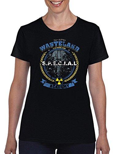 TSP Wasteland Damen T-Shirt S Schwarz
