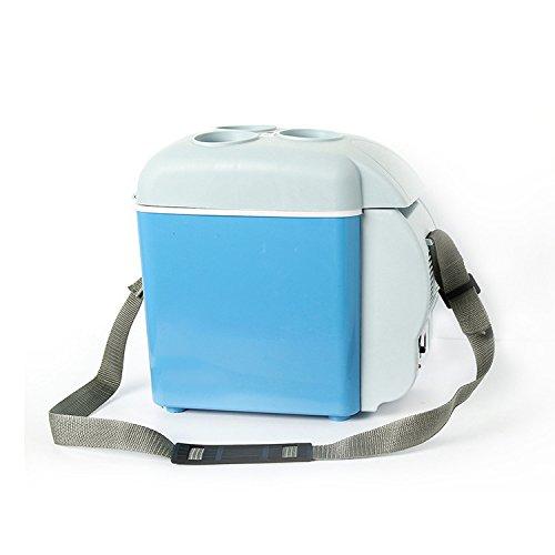 LT&NT Réfrigérateur de Voiture 7.5 l/12V, Mini Réfrigérateur portatif électrique, congélateur à Double Usage de Réfrigération/Chauffage, Boîte Froide et Chaude avec Le Support de Cuvette