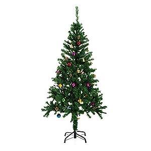 HOMCOM Árbol de Navidad 150cm