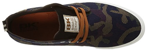 British Knights Herren Devon Mid Slipper Multicolore (army)