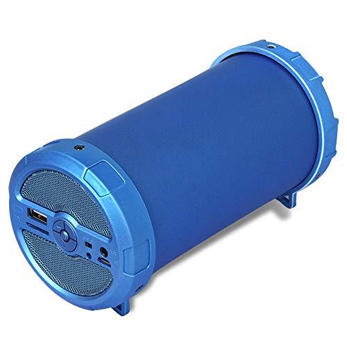YIEWFI Bluetooth-Lautsprecher, professioneller und praktischer Super-Bass-Bluetooth-Lautsprecher, Auto-Outdoor-Lautsprecher,Blue