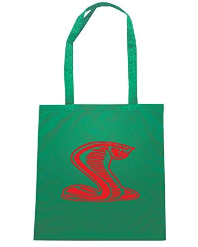 T-Shirtshock - Borsa Shopping FUN0327 058 cobra right 08862 Verde