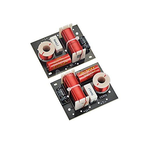 Douk Audio - Divisor de frecuencia de altavoz (2 unidades, 2 vías, 2 unidades)