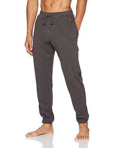 Marc O\'Polo Body & Beach Herren Mix Pants Schlafanzughose, Grau (Dunkelgrau 205), X-Large