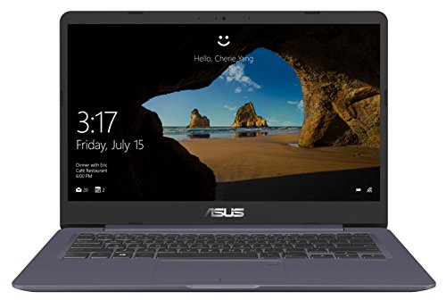 Asus Zenbook UX410UA-GV410T Ultrabook 14' Full HD Gris (Intel Core i7, 8 Go de RAM, SSD 256 Go, Windows 10) Clavier AZERTY Français