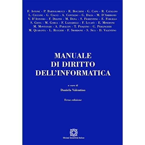 Manuale Di Diritto Dell'informatica