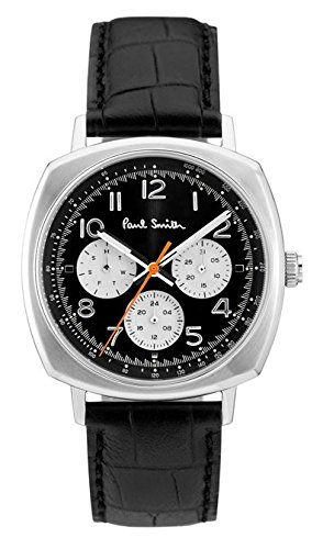 paul-smith-mens-quartz-watch-with-black-dial-analogue-display-and-black-leather-strap-p10041