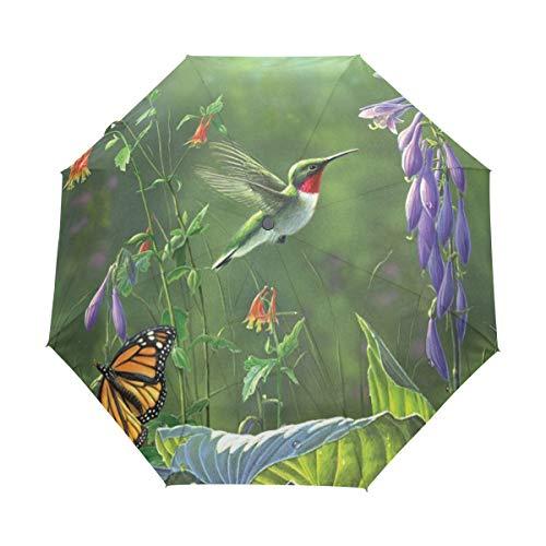 nddichter Reise-Regenschirm, kompakt, leicht, tragbar ()