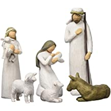 Willow Tree 26005 Ensemble de 6 Figurines Crèche Nativité