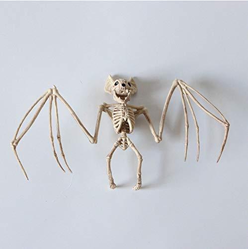 FaceToWind Halloween Horror Tier Eidechse Frosch Fledermaus Skelett Spukhaus Horror Dekoration Requisiten Dekoration, C